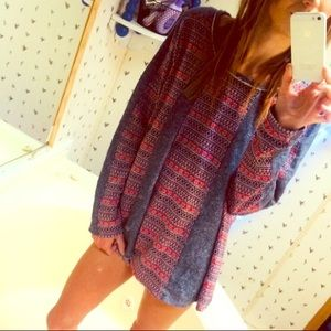 Umgee over sized sweater NWT
